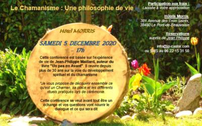 Conférence à Pont de Beauvoisin – Décembre 2020